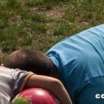 Foto con pensamiento sobre ser padre.